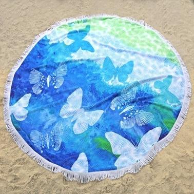 İrya Bahama Plaj Havlusu Renkli